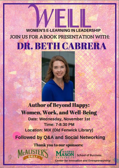 Beth Cabrera FLyer